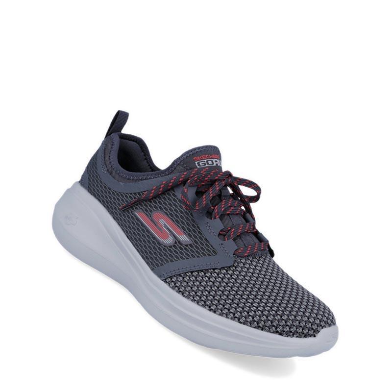 Skechers - GOrun Fast - Invigorate Sepatu Lari Wanita - Abu-abu 6125884a50