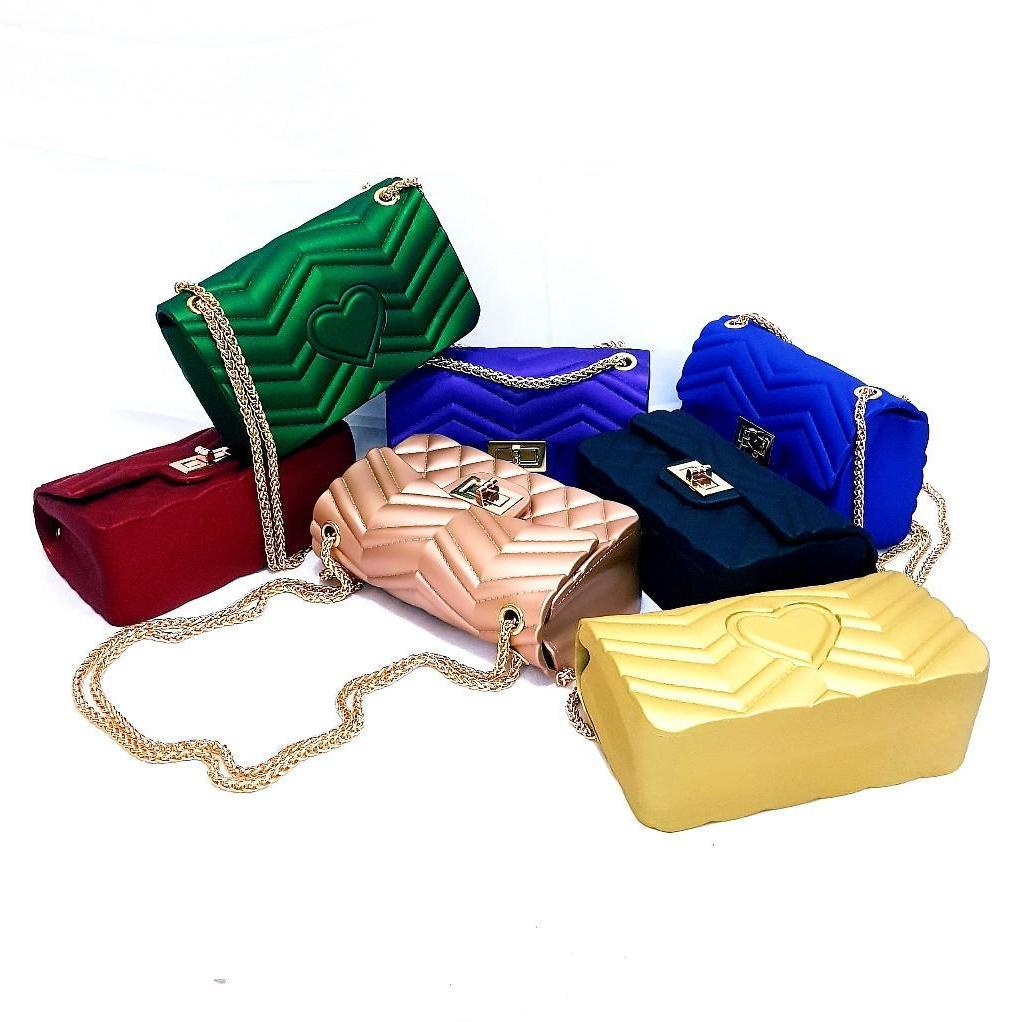 tas jelly matte mini new 2018 BISA BAYAR DITEMPAT-Tas wanita-Tas fashion import-Tas selempang-kualitas super bahan tebal 4 mili