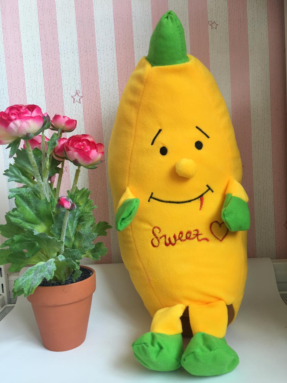 Boneka Pisang Banana Yellow 50 Cm By Dekiddos.