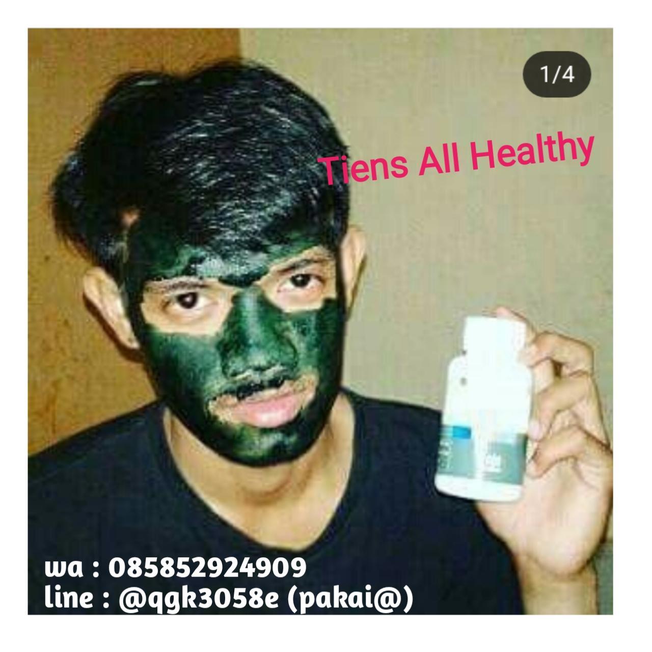 Diskon Untuk Harga Terendah Tiens Masker Spirulina Herbal Alami 10 Meili An Chang Wan Obat Jerawat Kapsul Bonus Kuas Cantik