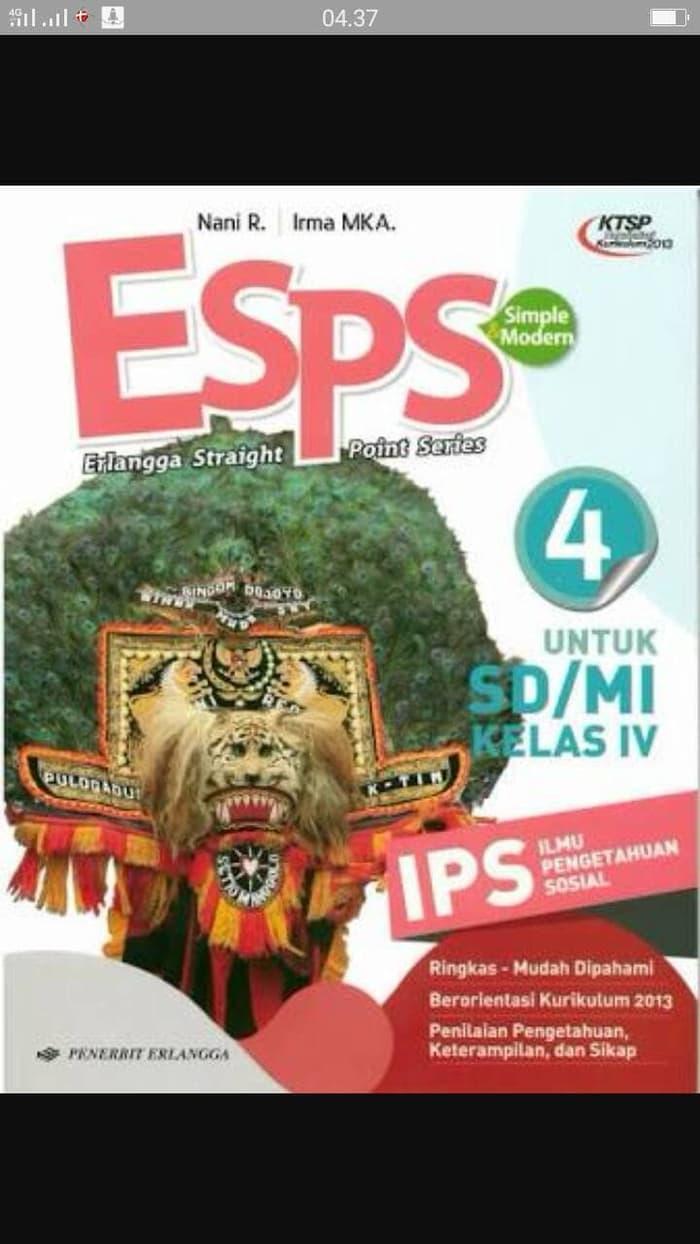 Best Top Seller!! Esps Ips Kls 4 Sd Erlangga 2013 New - ready stock