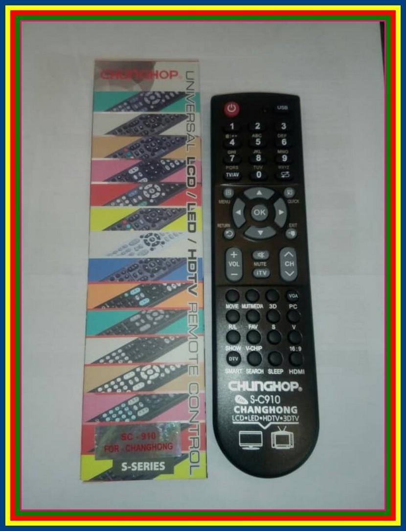Remot Remote TV LCD LED Multi Universal Changhong