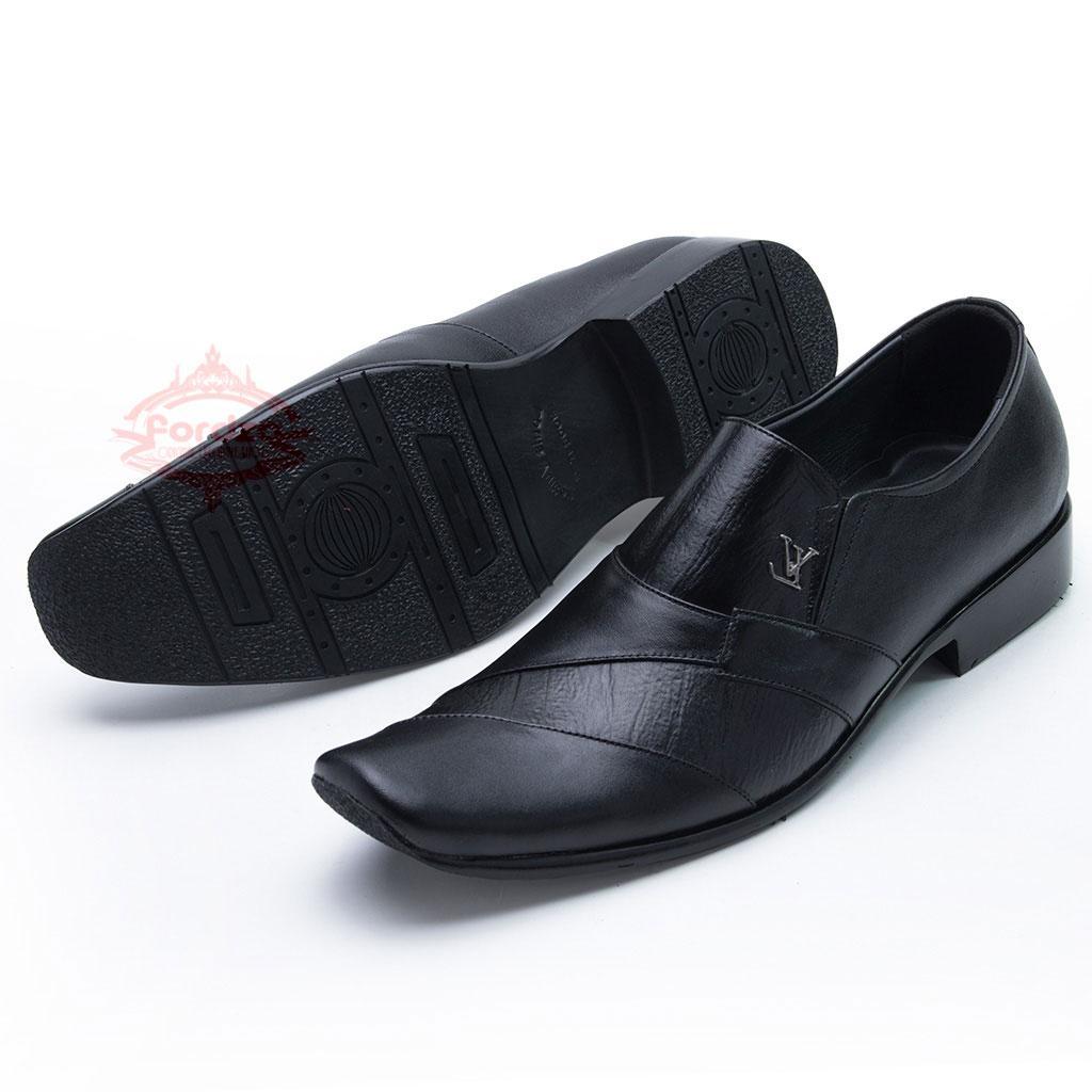 Sepatu Pantofel Kulit untuk Kerja Kantor bukan Kickers 902HT