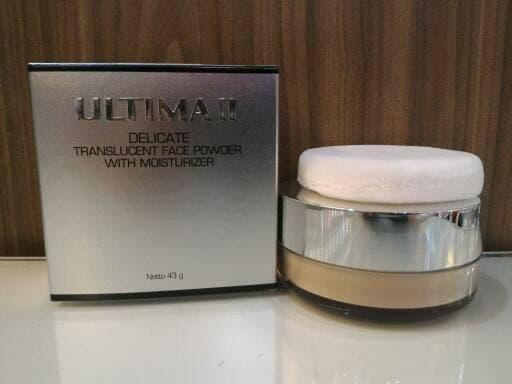 Diskon 10% Ultima Ii Transulcent Face Powder 43 Gr , Bedak Tabur - ready stock