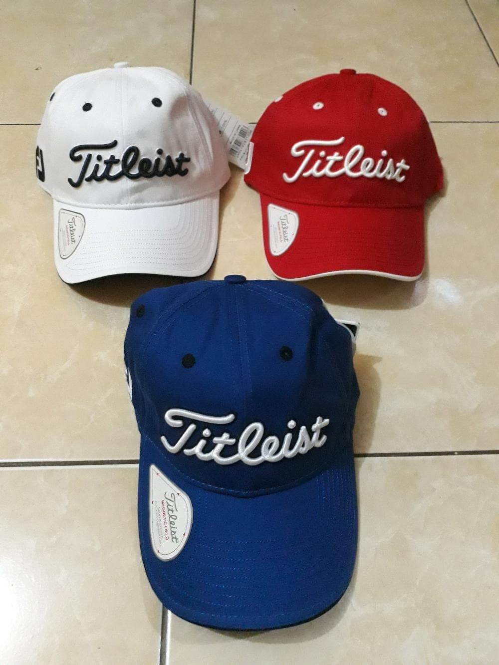 Topi Titleist FJ Golf