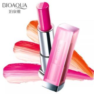 Bioaqua A Lipstick Two Touch Tricolor Gradient - 01 Honey Orange thumbnail