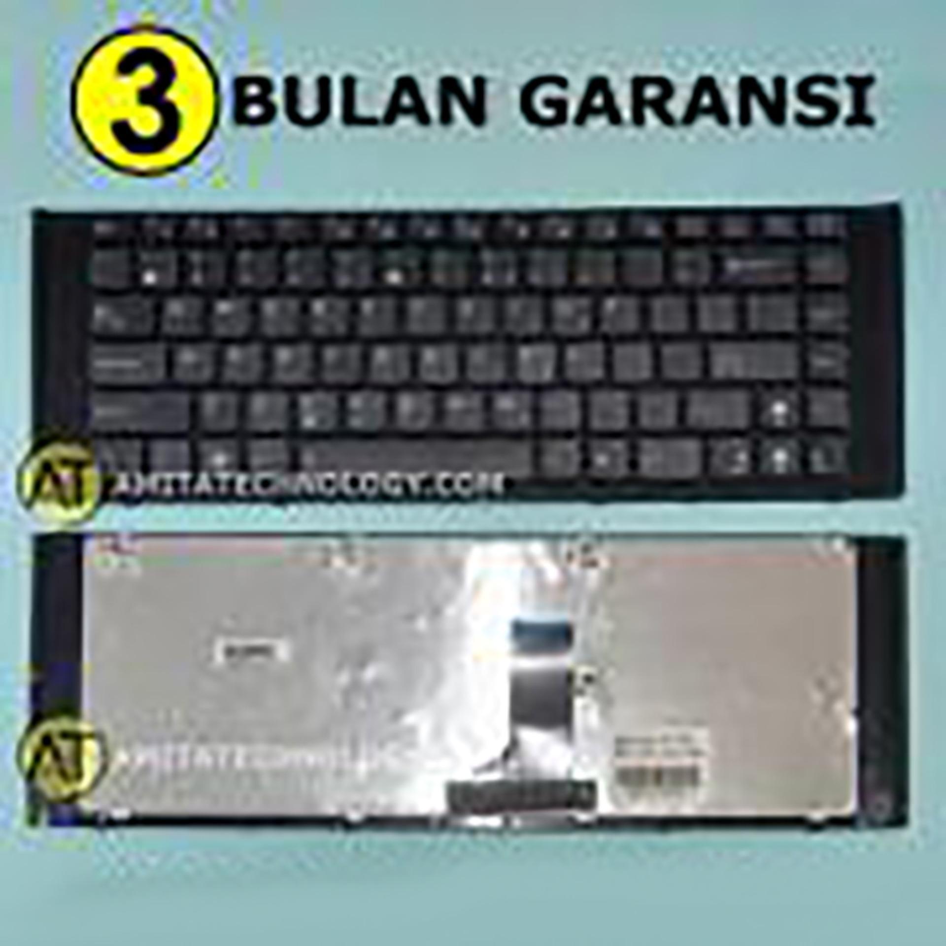 Keyboard Laptop ORIGINAL Asus X42J X42JE X42DE Full Frame / Case