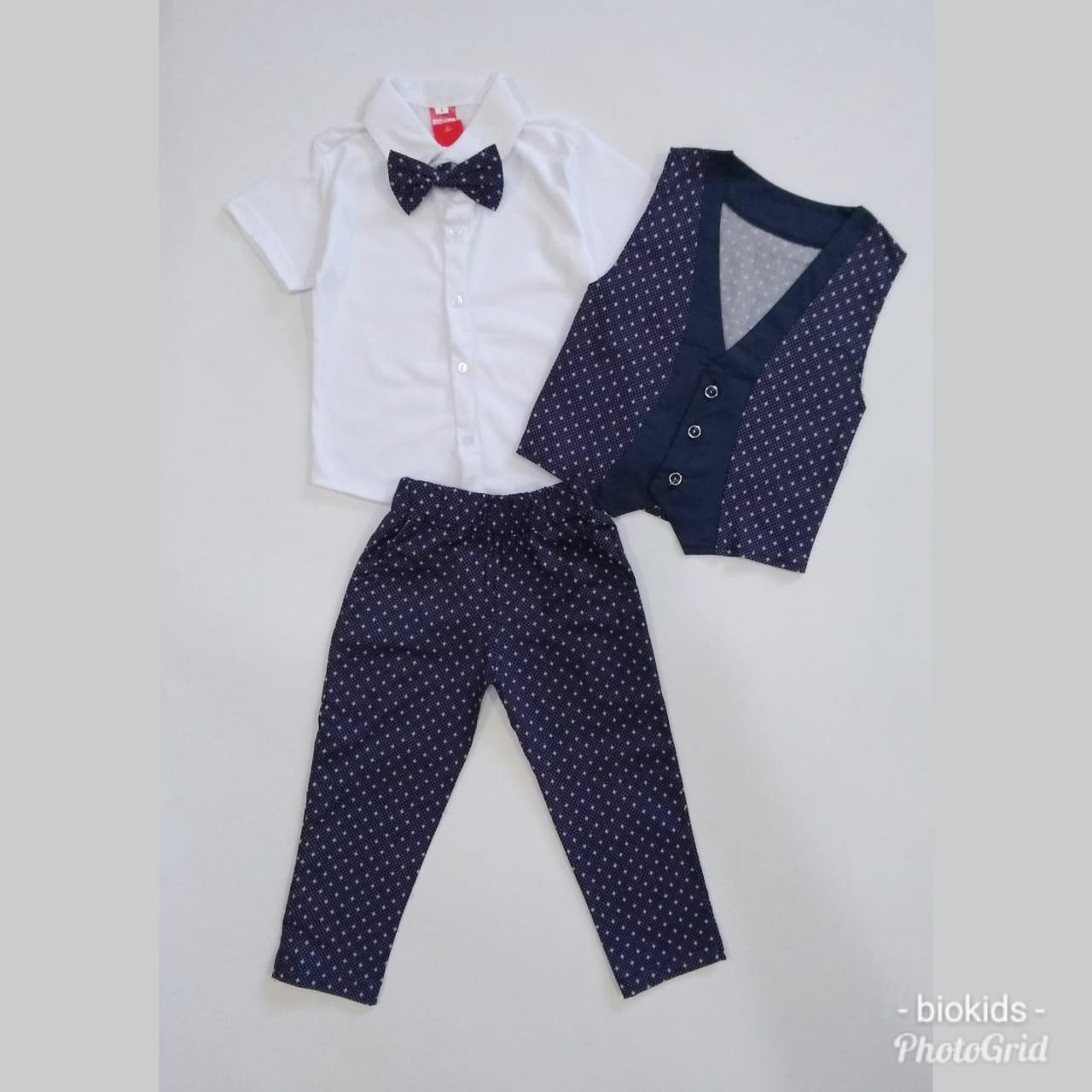 Setelan Tuxedo Anak Cowok 4 In 1 steward - Rompi Anak Formal - Baju Pesta 1