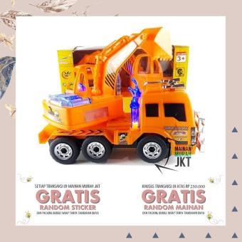 Pencarian Termurah Terbaru!! Mainan Truk Beko Kontruksi Alat Berat Excavator - ready stock harga