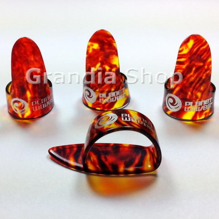 PROMO Planet Waves Set Finger & Thumb Pick Shell / Pik Jari Jempol Gitar TERLARIS
