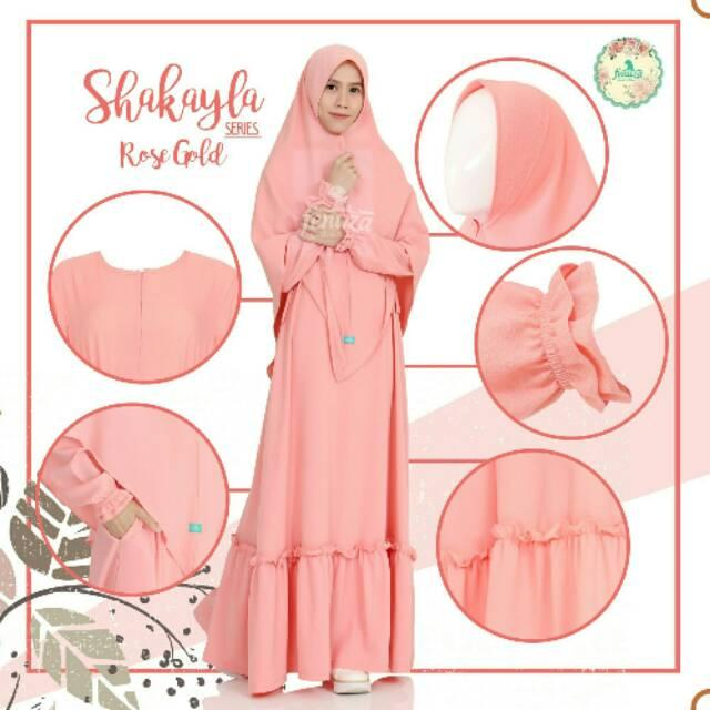 SHAKAYLA (dress saja) by fenuza (Sweet Apricot L)