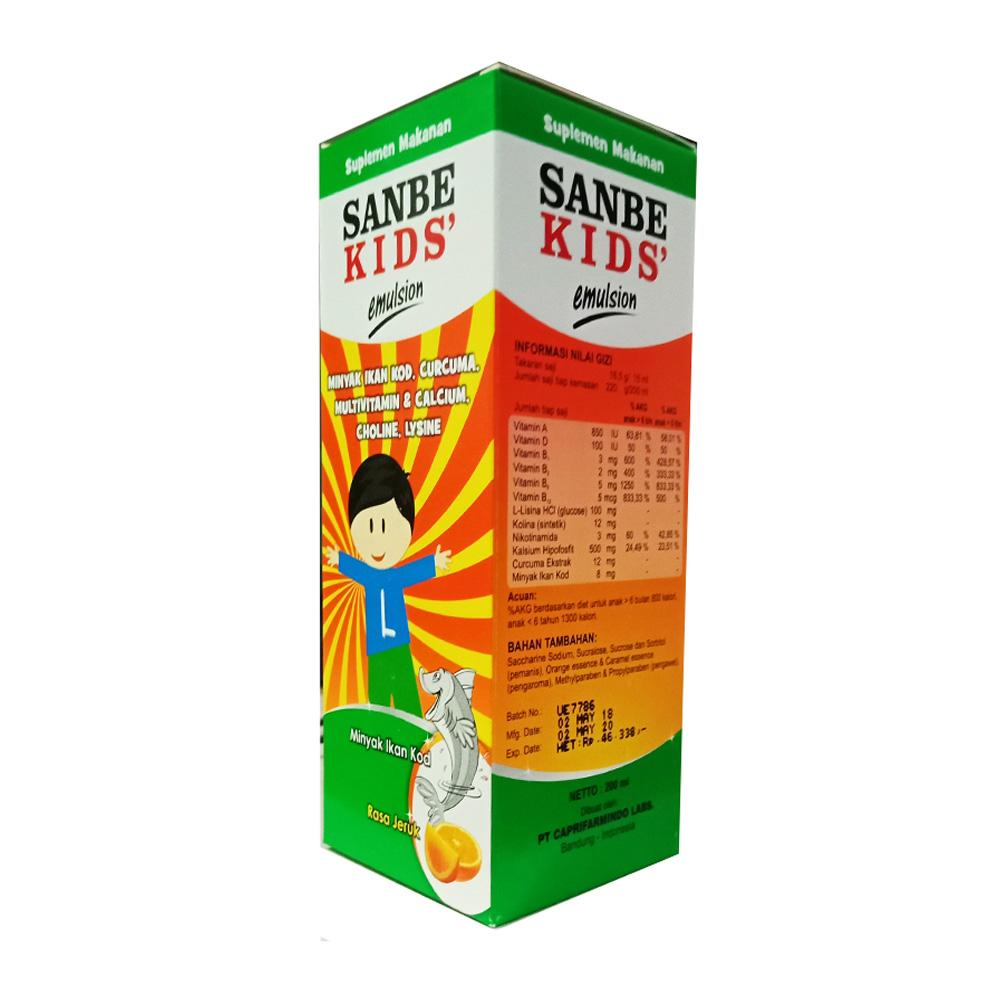 Delin Store - Sanbe Kids Emulsion 200 Ml By Delin Store.