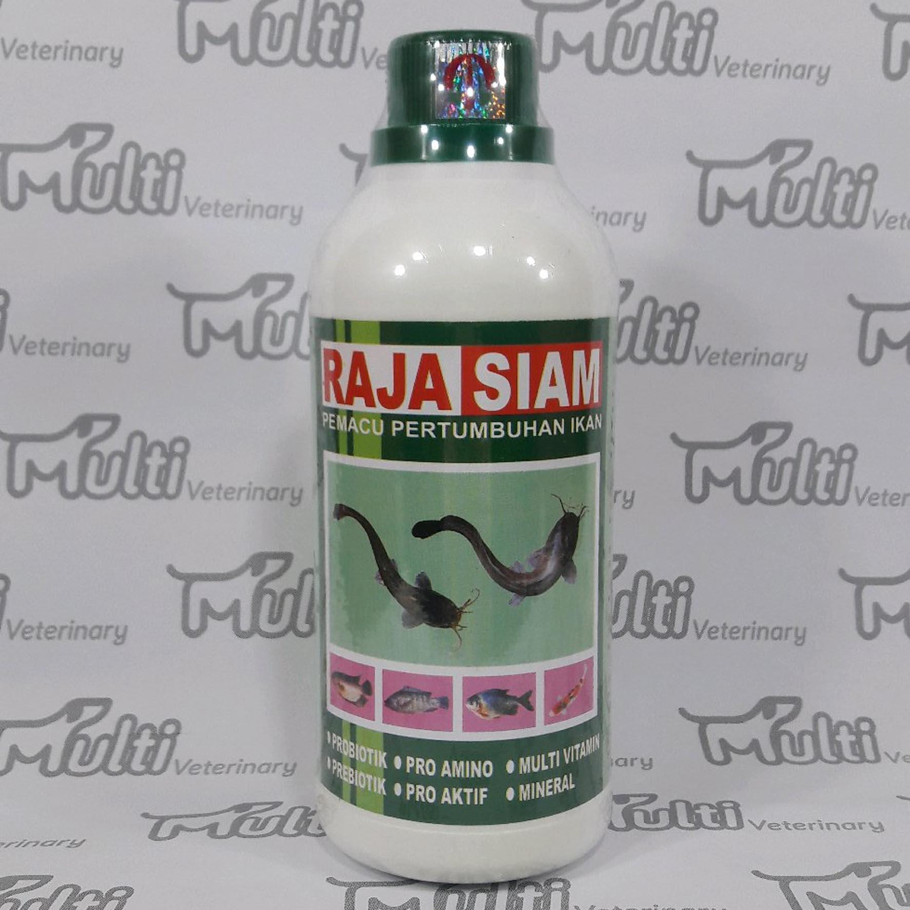 Pemacu Pertumbuhan Ikan Raja Siam 250 Ml By Multi Veterinary.