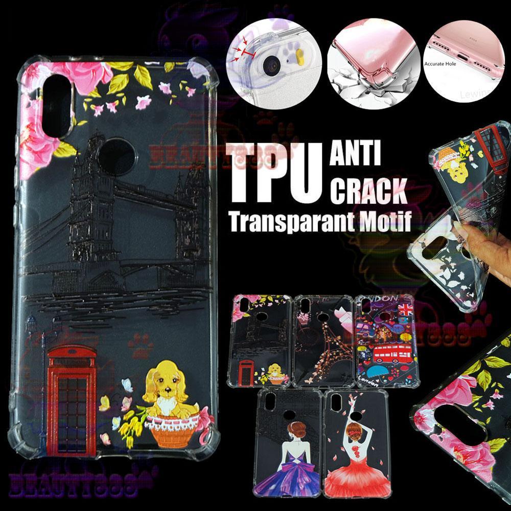 Beauty Case Anti Crack For Xiaomi MI A2 Lite Case 3D Luxury Animasi Jembatan Inggris London Softcase Anti Jamur Air Case 0.3mm / Silicone Untuk Xiaomi MI A2 Lite / Silikon Anti Shock / Case Hp / Jelly Case For Xiaomi MI A2 Lite / Anti Crack Gambar - 4