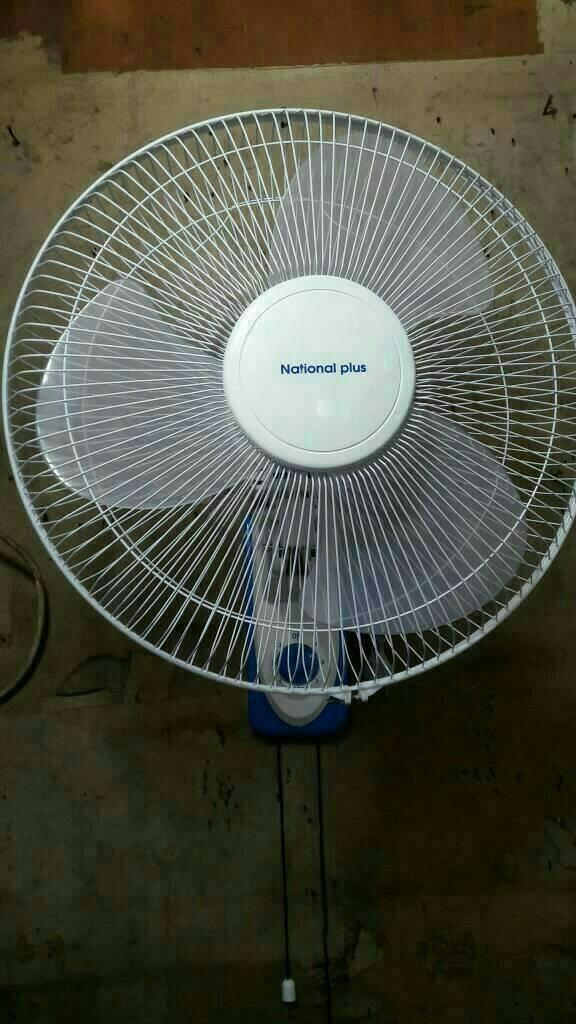 Kipas angin Murah 16 in  Kipas angin dinding  wall fan National 16