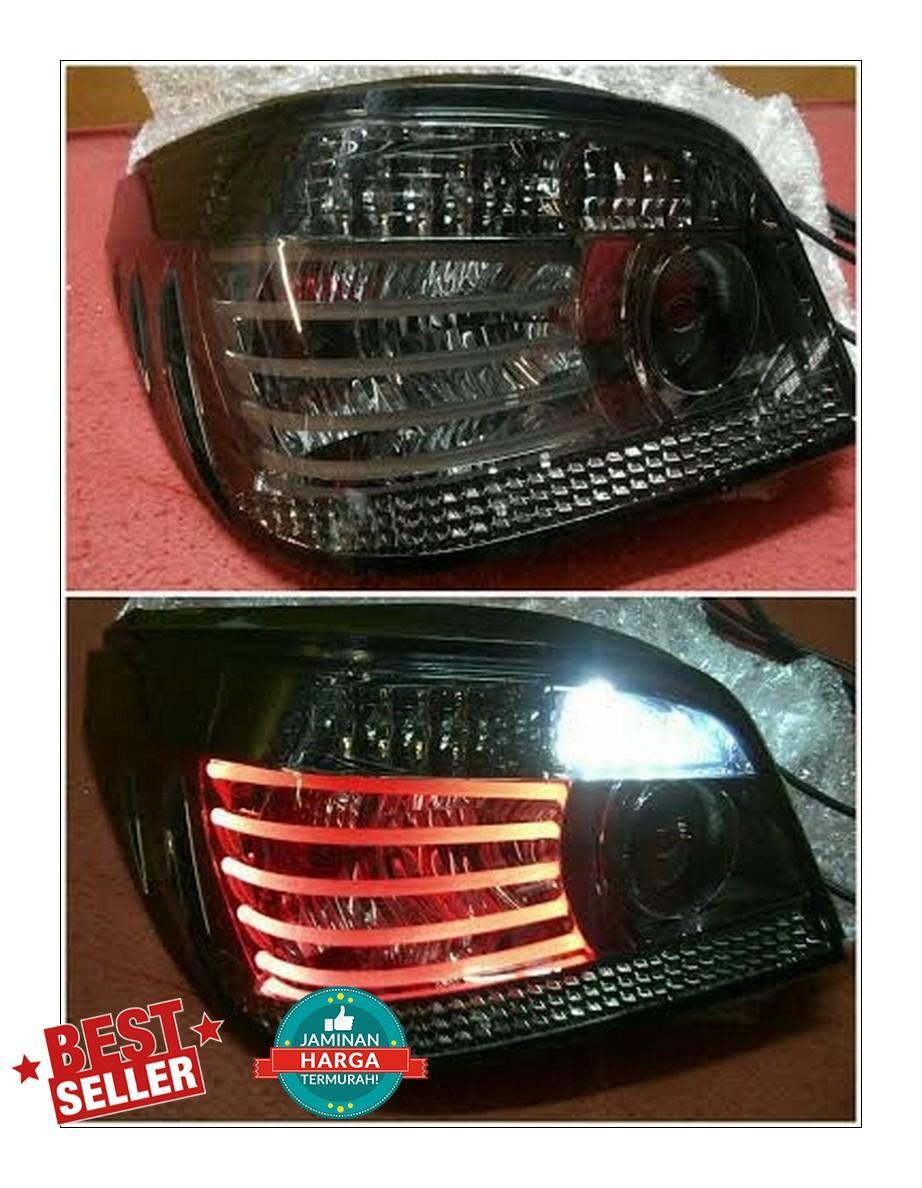BM079-B0SE2-3V Stoplamp BMW E60 03-08 LED Lines Crystal All Smoke Lens