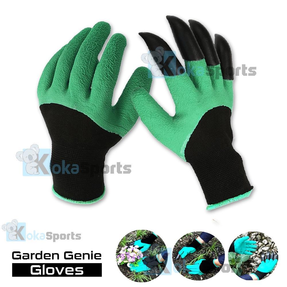 Garden Genie Gloves Sarung Tangan Berkebun Untuk Menanam / Menggali Tanah