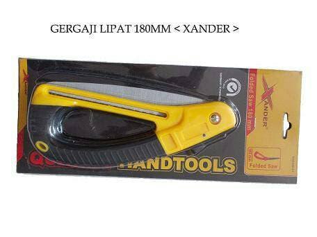 Banyak diCARI gergaji lipat 180mm merk xander/folded saw