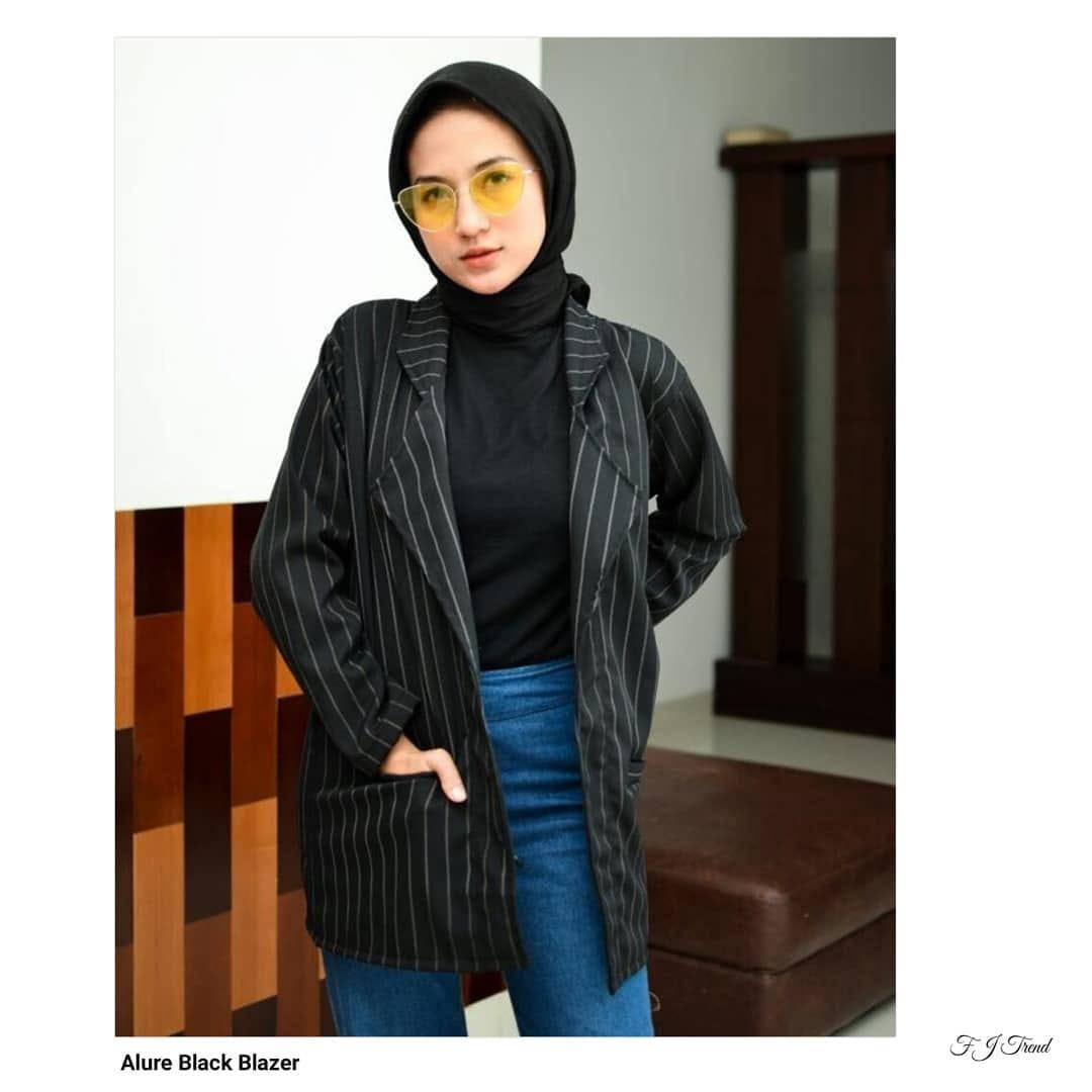Fashion Flower Jaket Blazer Wanita Lavio Coksu Cek Harga Terkini Source · BLAZER WANITA ALURE BLAZER FASHION BLAZER WANITA