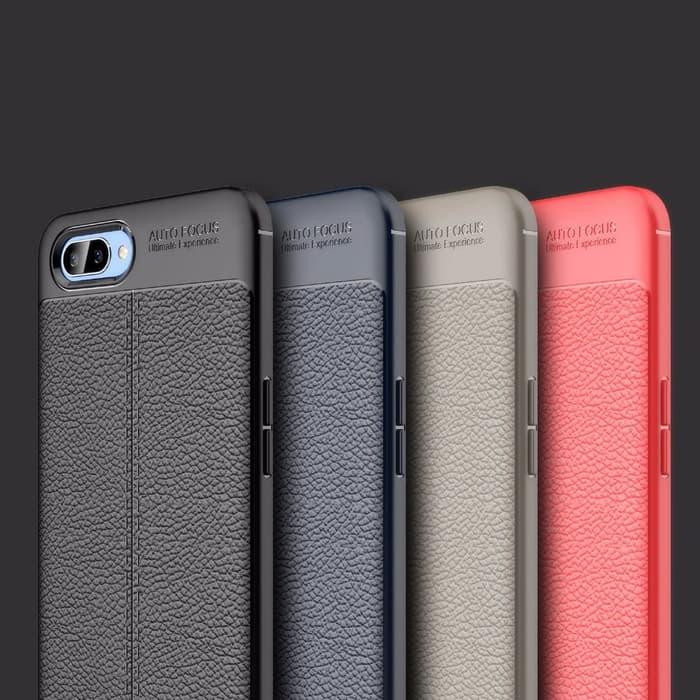 OPPO A3S OPPO A3S Case Auto Focus Leather Softcase / Casing