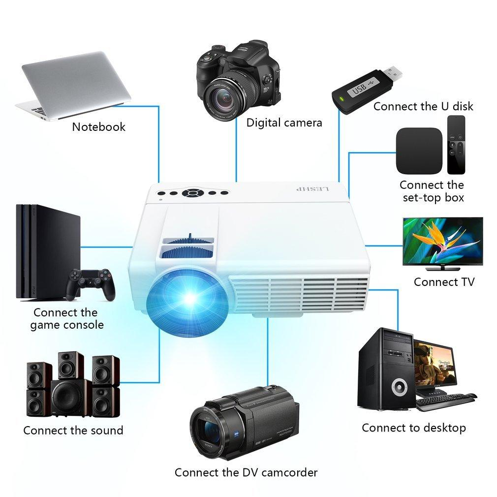 Buy & Sell Cheapest LESHP VIDEO PROJECTOR Best Quality Product Deals ...