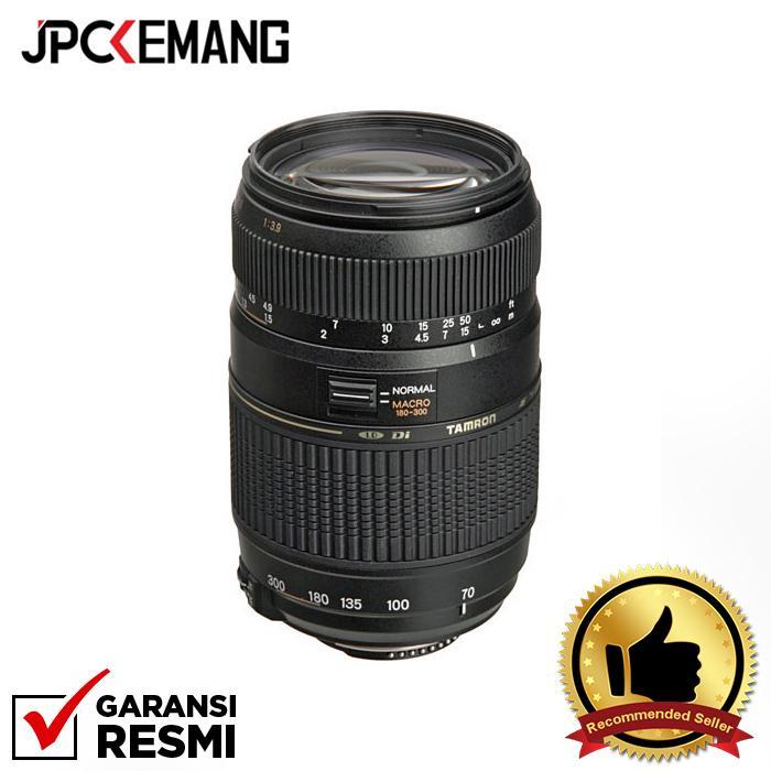 Tamron Lens for Nikon AF 70-300mm Di f/4-5.6 LD Macro Bulit In Motor jpckemang GARANSI RESMI