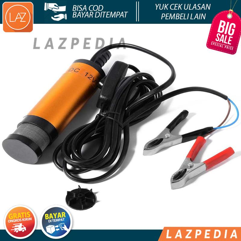 Laz COD - Pompa Transfer Oli Bensin Mobil Elektrik 12V - Lazpedia / B249