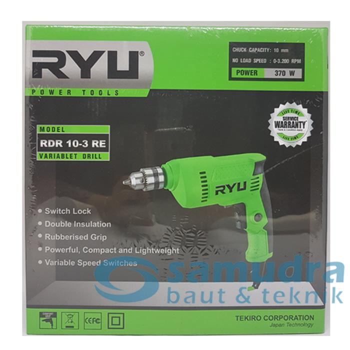 Mesin Bor Listrik TEKIRO RYU RDR 10-3 RE Electric Drill