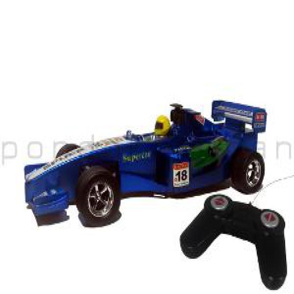 Mainan RC Remote Control Mobil Balap Formula 1 - Blue