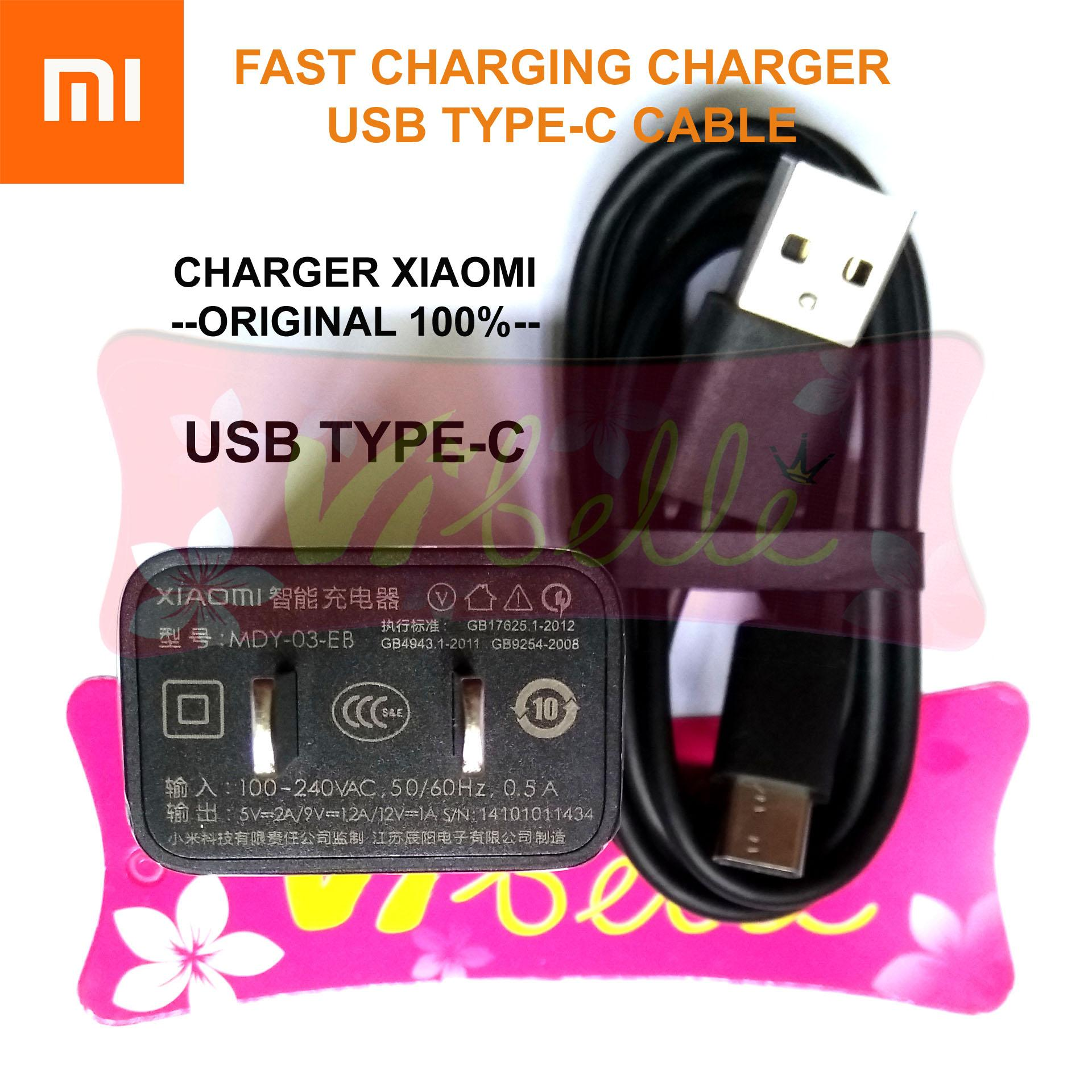 Charger Xiaomi Type C Fast Charging Kabel .