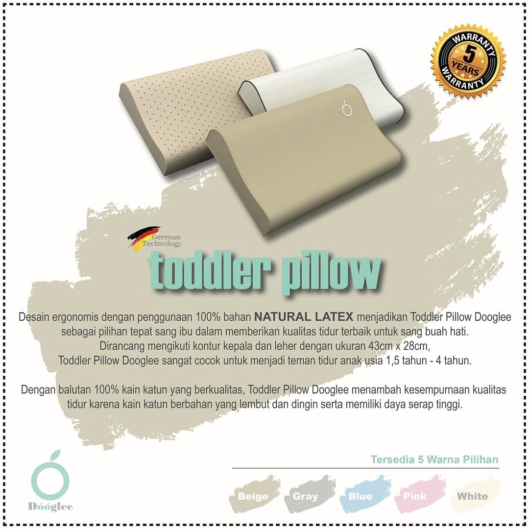 Buy Sell Cheapest Deryan Toodler Luxe Best Quality Product Deals Toddler Cream Pueter Travel Sleeping Cot Bed Dooglee Pillow Beige