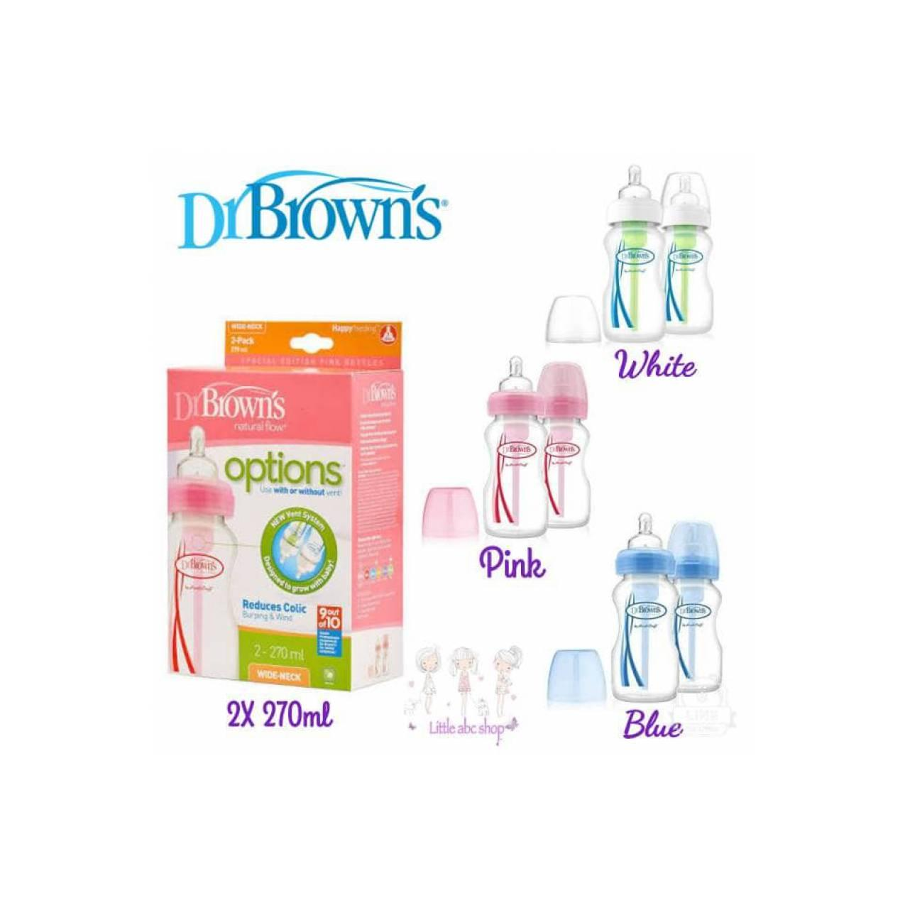Buy Sell Cheapest Dr Browns Options Best Quality Product Deals Drbrowns 5 Oz 150 Ml Pesu Wide Neck Baby Bottle 1 Pack Brown Botol Susu Bayi