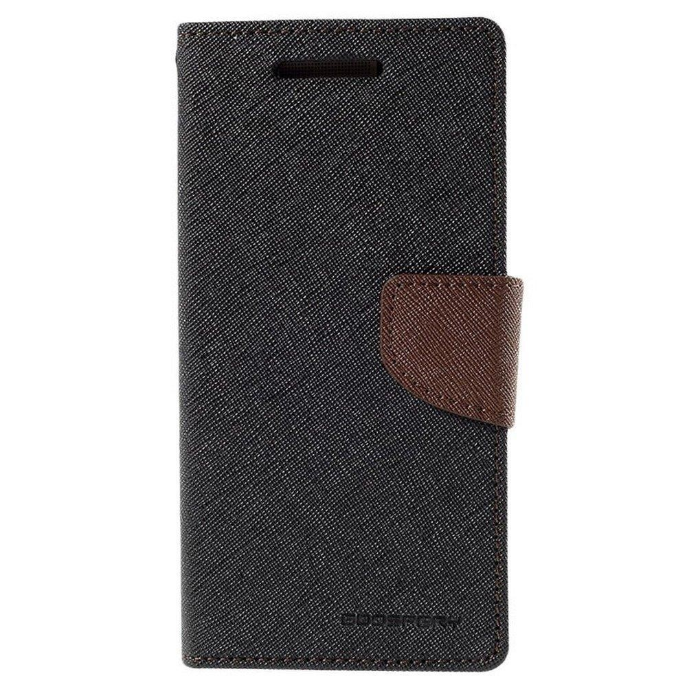 Mercury Fancy Diary Case for Samsung Galaxy Note 9 - Black/Brown
