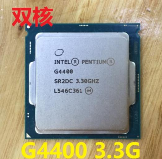Intel Pentium G4400 Prosesor B Cache 3.3 GHz LGA1151 Dual Core Desktop PC CPU Dapat Bekerja