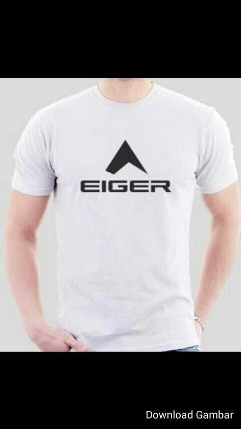 Tshirt/ t shirt/ baju/ oblong/ kaos Eiger ,putih - vVxJL1