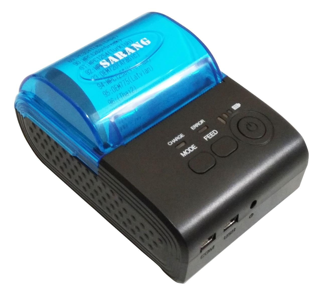 MINI PRINTER THERMAL BLUETOOTH SARANG SRG5805D 58MM