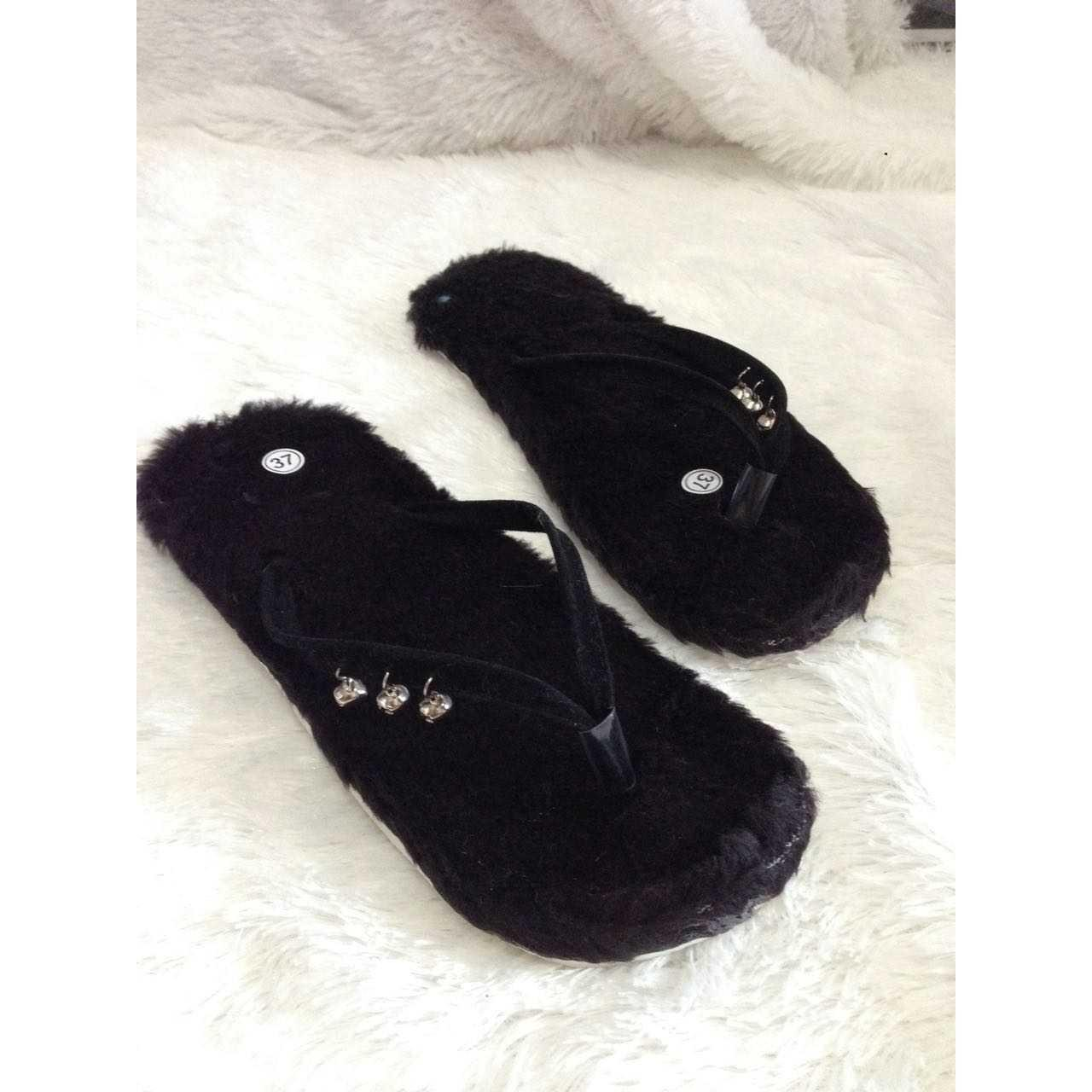 BEST SELLER Sandal bulu lonceng Wanita TERMURAH