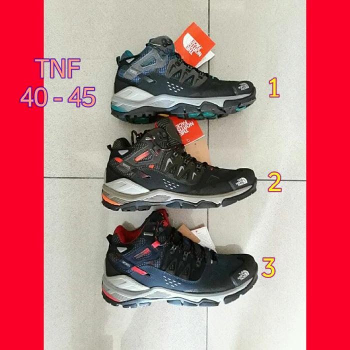Sepatu TNF The North Face Gunung Outdoor Hiking Boots Import