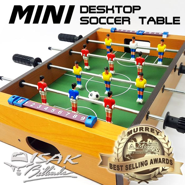 Mini Desktop Soccer Football Table - Mainan Hadiah Anak Meja Billiard