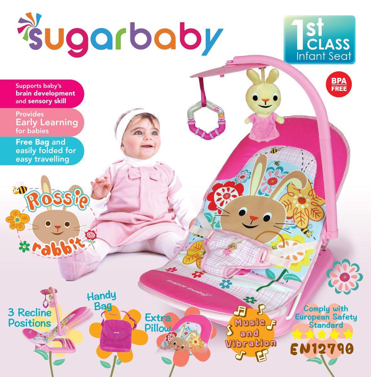 Kursi mandi Sugar Baby Deluxe baby bather - Baru Babyloania. Source · Ayunan, Jumper