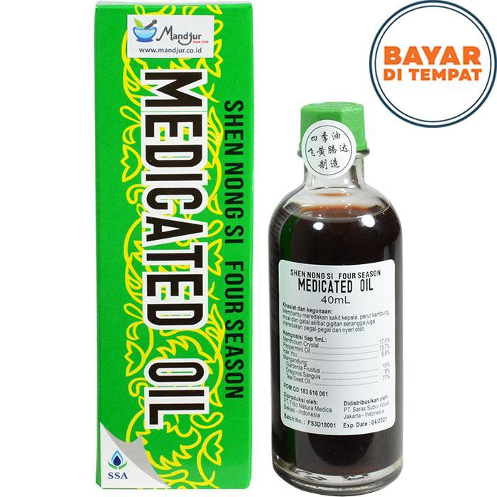 Four Season Medicated Oil 40 Ml By Mandjur.