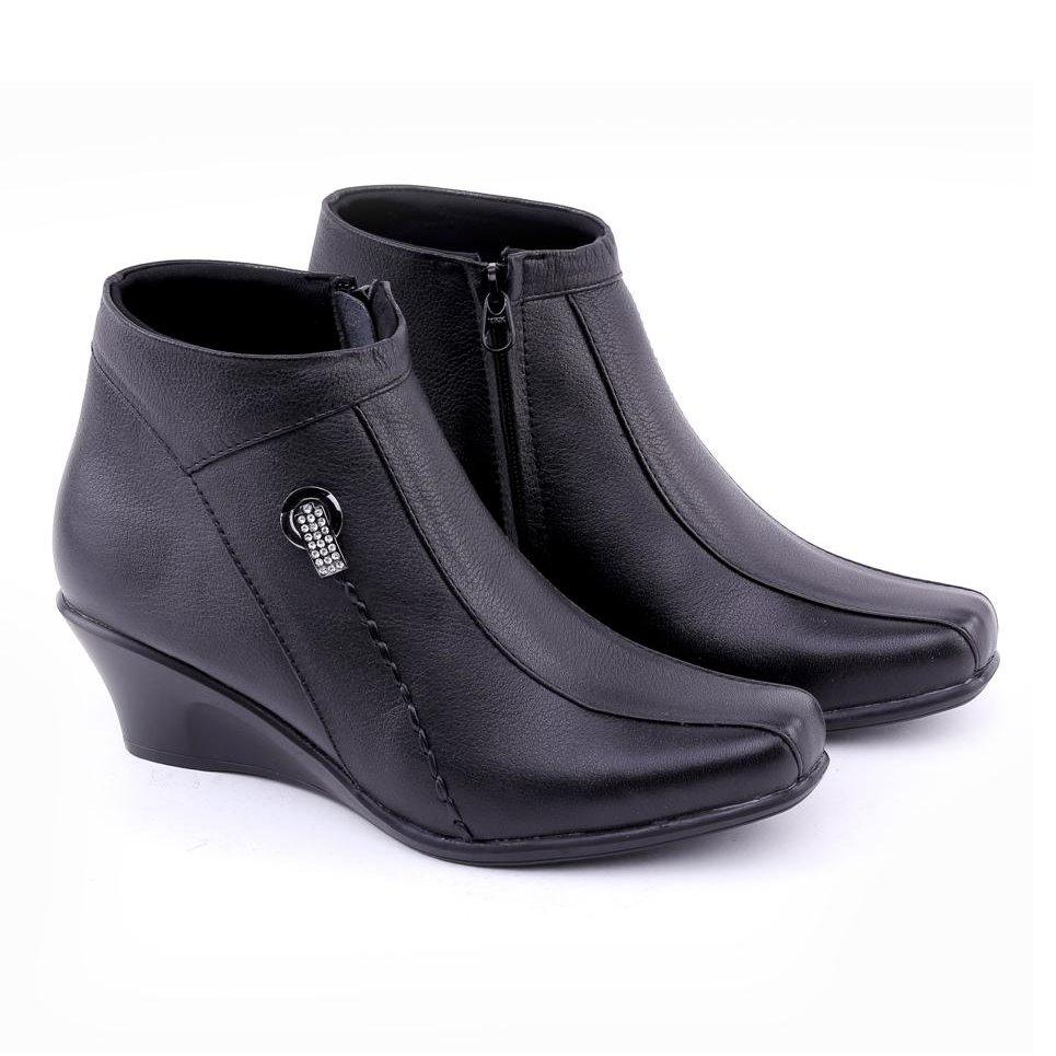 SEPATU FORMAL / KERJA WANITA/sepatu boot wanita/sepatu kulit asli cibaduyut
