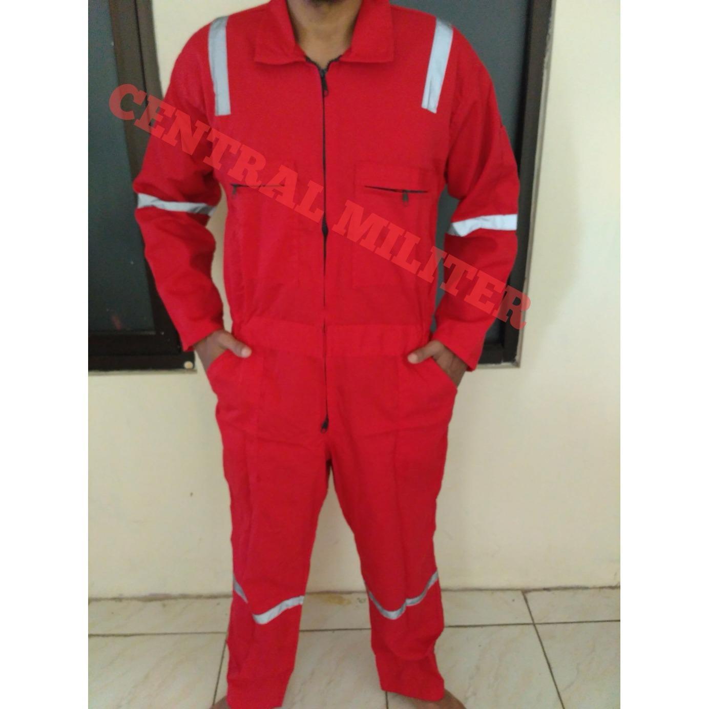 Katelpak Merah Scotlight/ Wearpack/ Coverall
