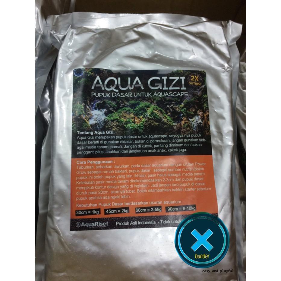 Pupuk Dasar Aquascape #Aqua Gizi - 5Ah7eg