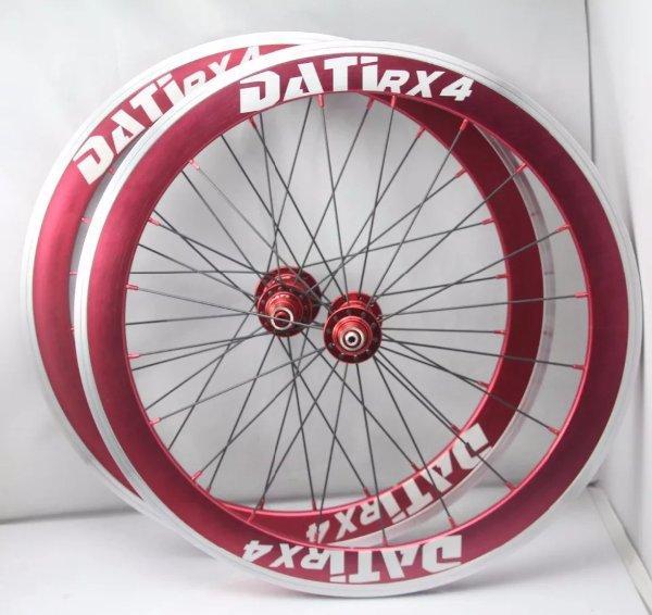 Wheelset 22 451 fnhon litepro dahon bike friday polygon downtube tern