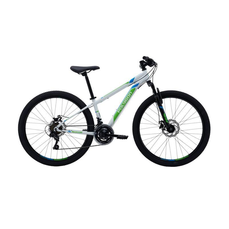 Polygon Monarch JR MTB 26 Q Sepeda MTB - White [13 Inch]