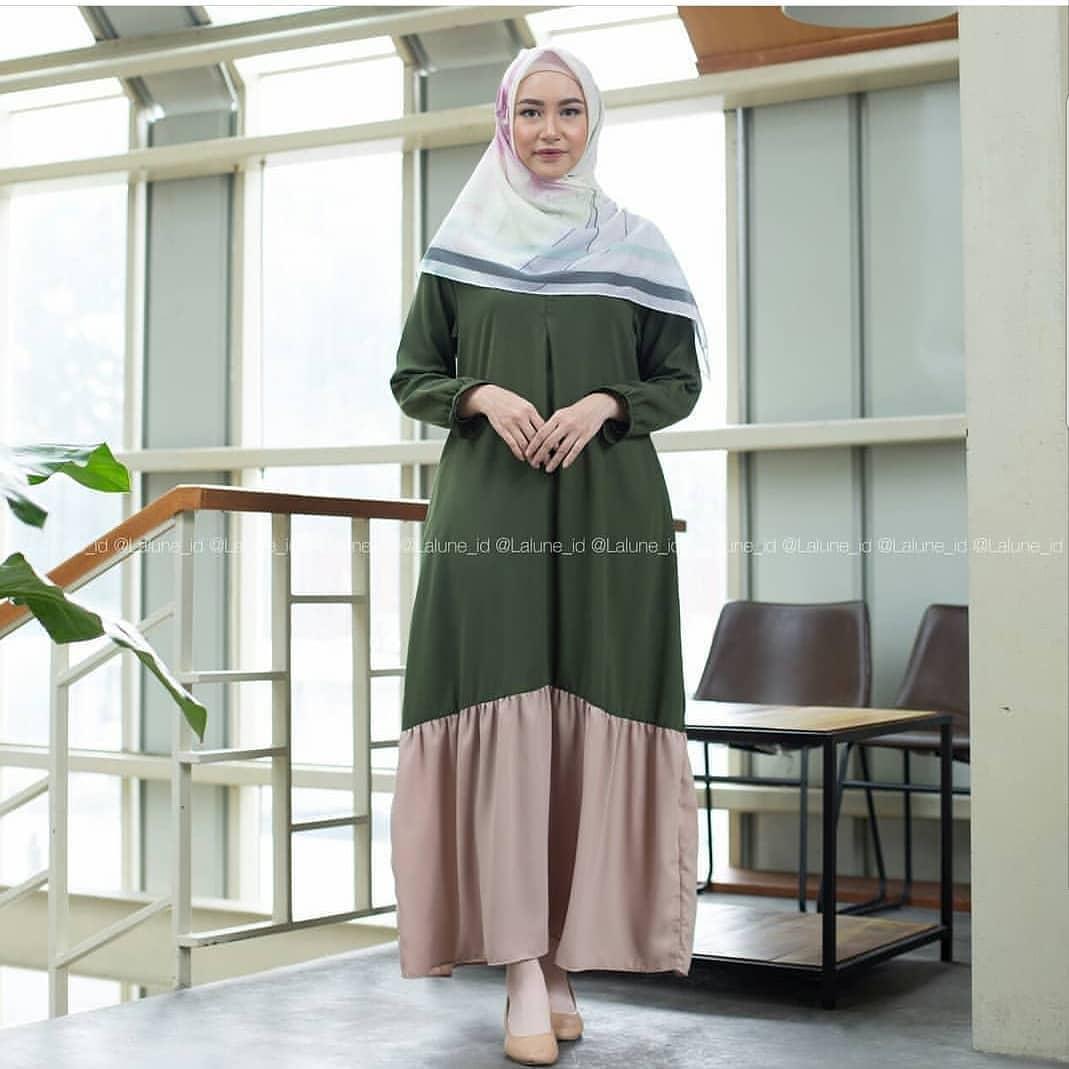 Baju Gamis Olivia Dress Muslimah