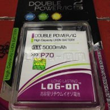 Baterai Double Power Double IC Log-On Lenovo P70 KBL