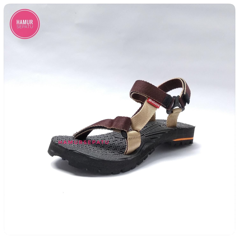 hamursepatu / Sandal Gunung Wanita / Sendal Hiking / Sandal Outdoor / Sandal Santai - Warna Coklat