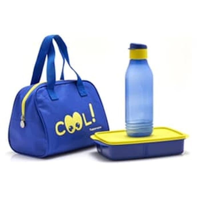 Tupperware Cool Teen New free TAS BEKAL paket bekal anak plus tas